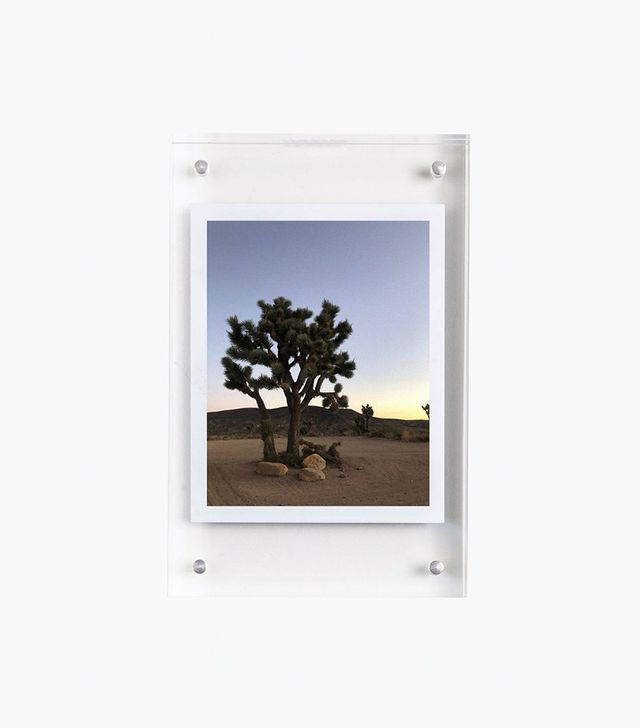 Poketo Small Lucite Photo Frame