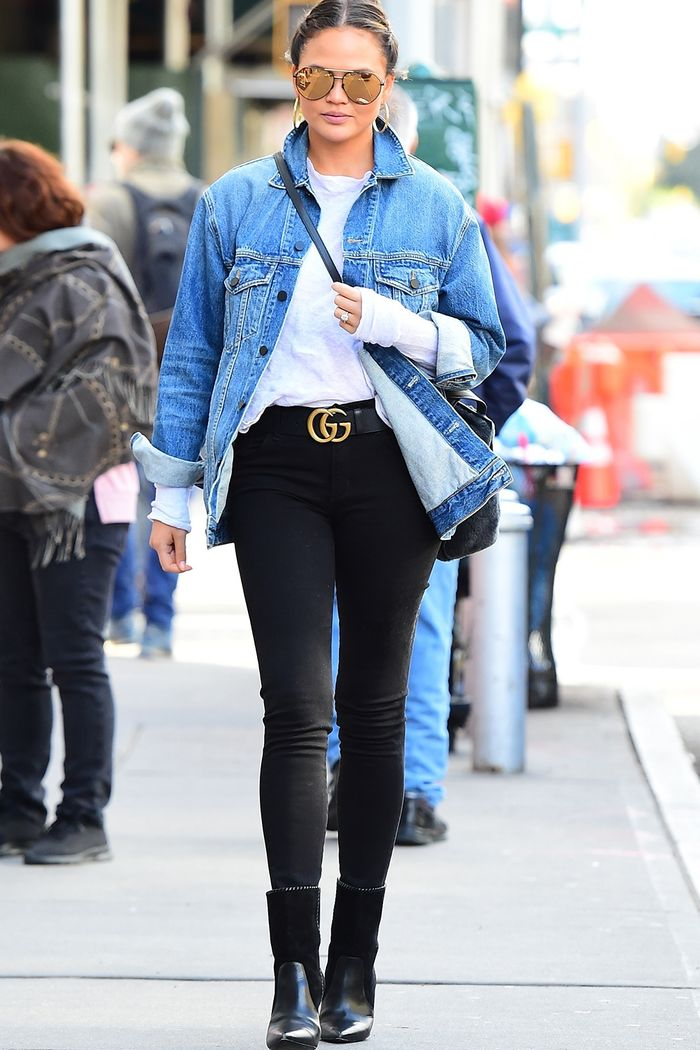 The Best Celebrity Belt Outfits Who What Wear