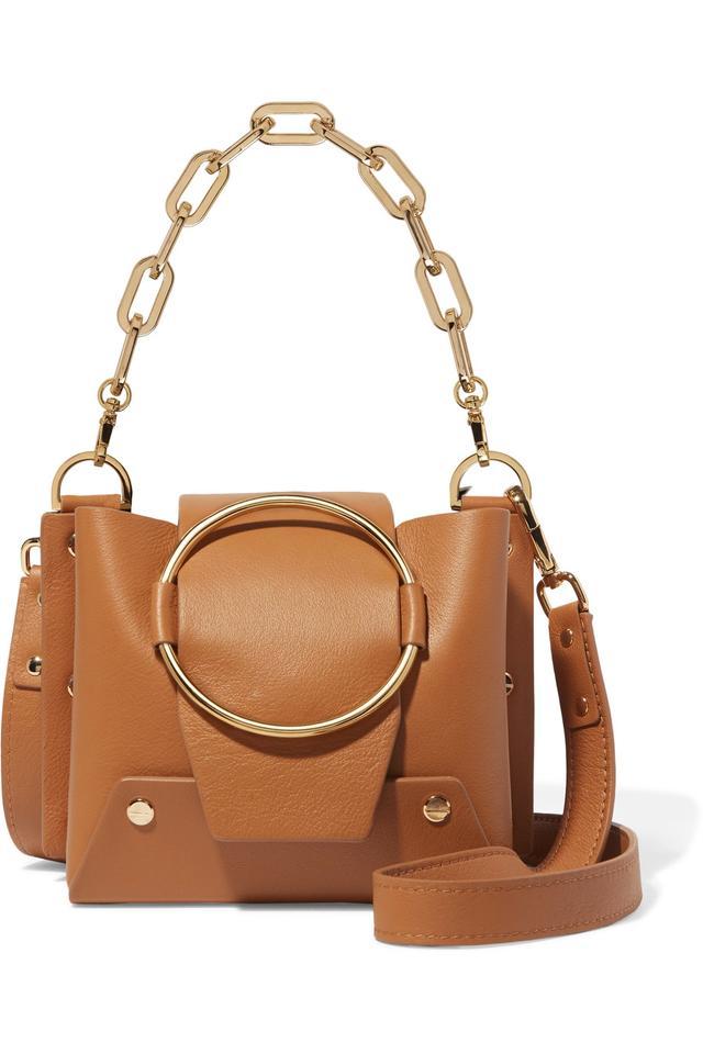 Delila Mini Leather Shoulder Bag