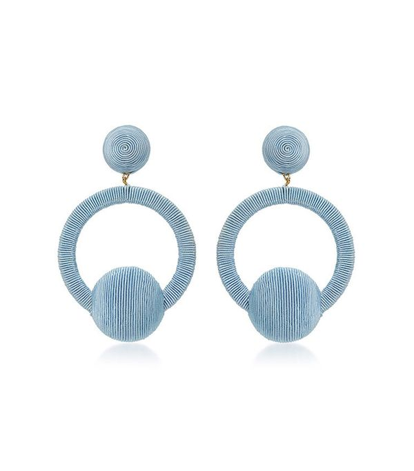 Rebecca de Ravenel Claudia La La Hoop Earrings