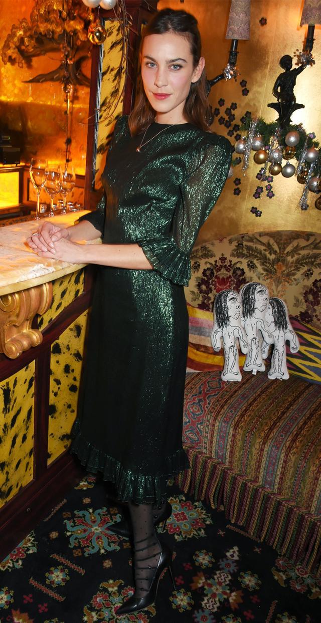 Alexa Chung Vampire Wife dress