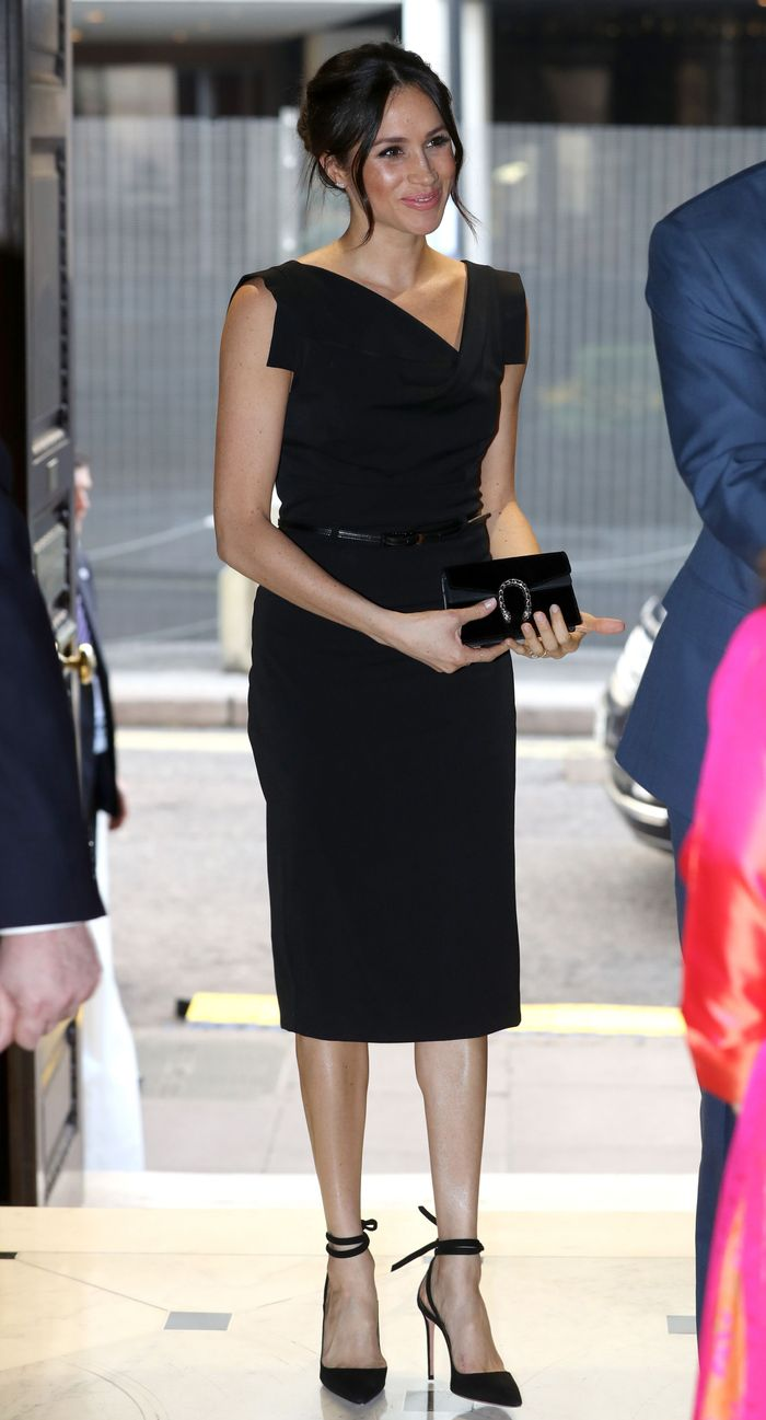 The Definitive Guide To Meghan Markle S Style Who What Wear
