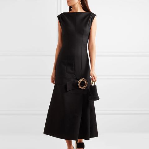 La Robe Claude Longue Midi Dress