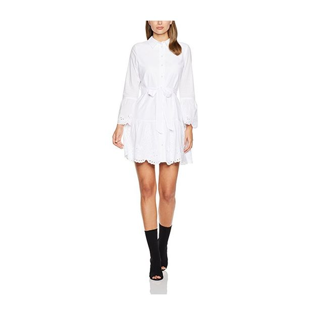 French Connection Fruit Lace Shirt Summer Dress
