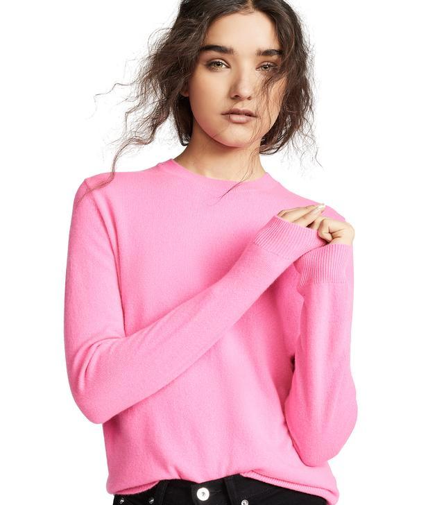 Cashmere Boxy Sweater