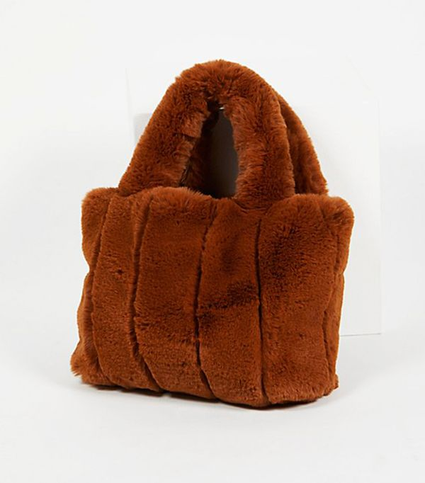 Dolce Faux Fur Tote by Free People