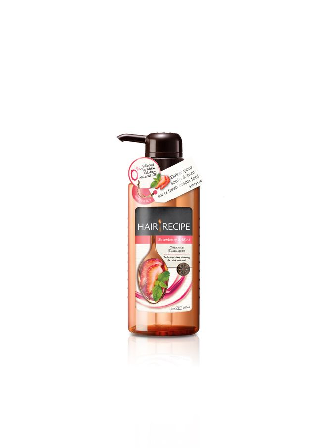 Hair Recipe Strawberry & Mint Cleanse Shampoo