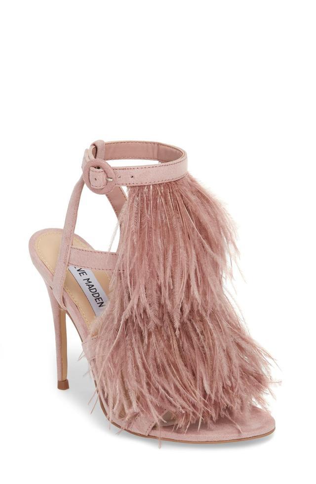 Fefe Feather Sandal