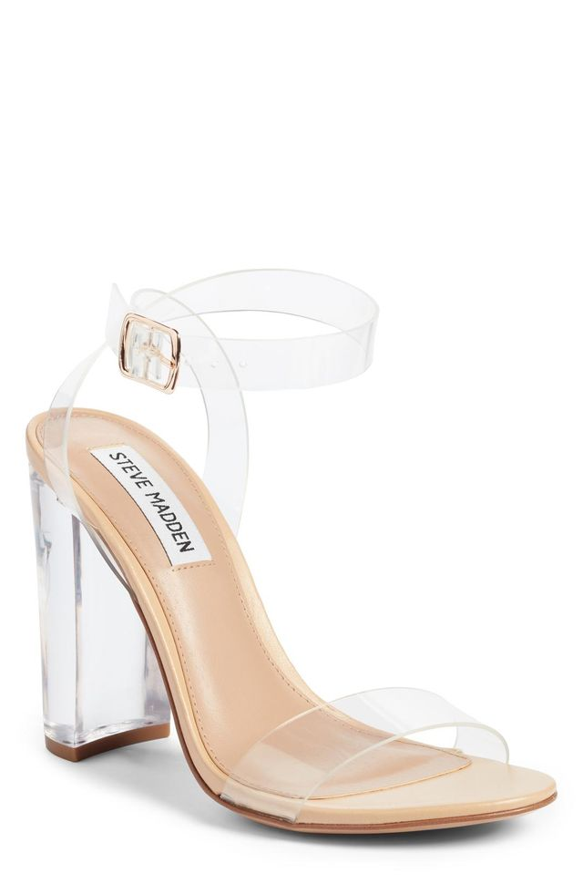 Camille Clear Sandal
