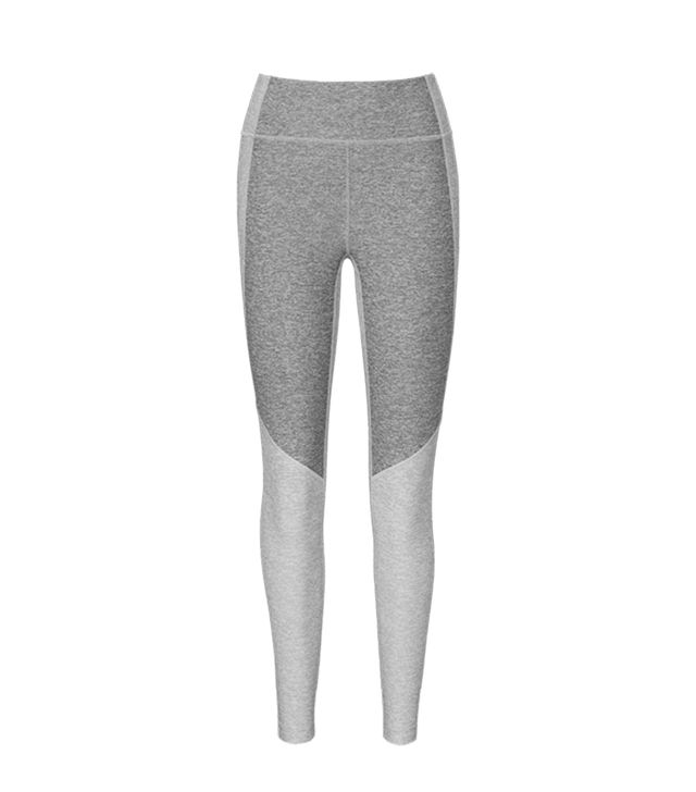 Outdoor Voices 3/4 Two-Tone Warmup Leggings
