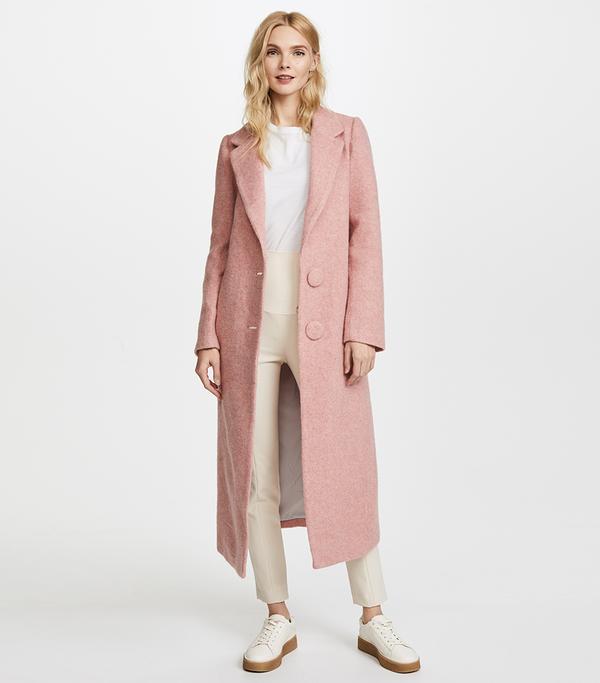 Long Double Button Coat