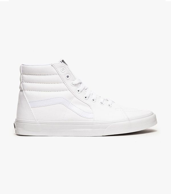 Sk8-Hi in True White