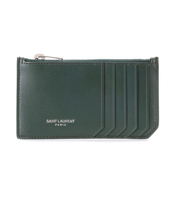 Classic Paris leather card holder