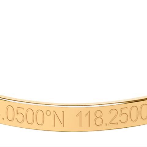 Legend Engraved Bangle Bracelet