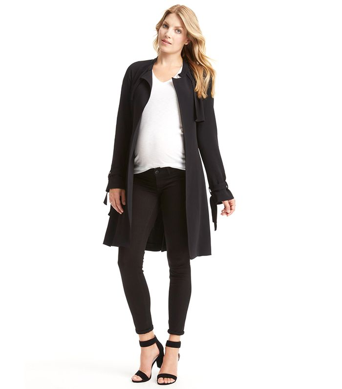 d35cdc2184387 These 15 Maternity Coats Will Last You All Winter | Who What Wear
