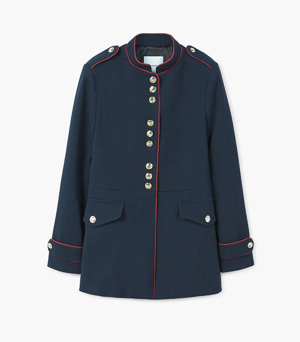 Hilfiger Collection Long Military Coat