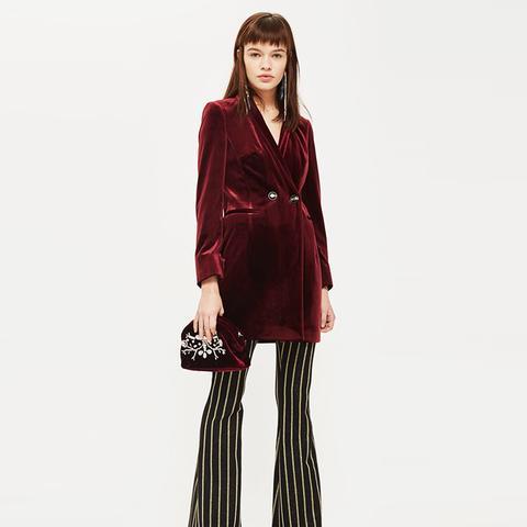 Velvet Blazer Dress