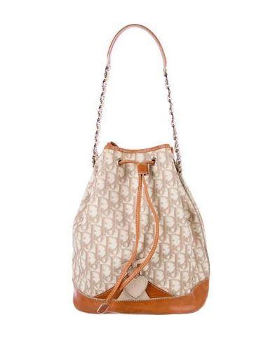 db78c97c9659 Dior Diorissimo Trotter Bucket Bag