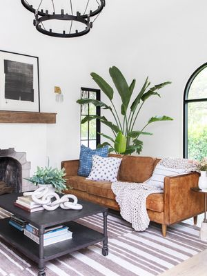 This Spanish Revival Home Was Stripped Down to It's Studs—You Should See It Now
