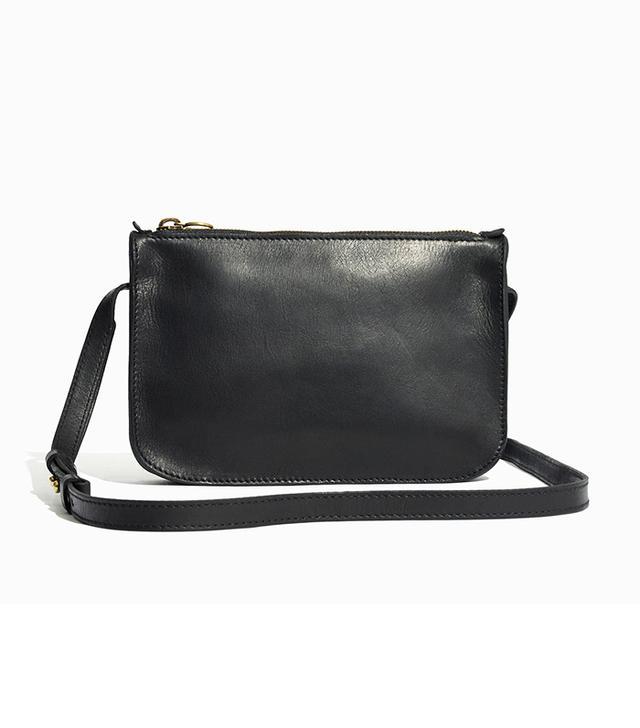 Madewell The Simple Crossbody Bag in True Black