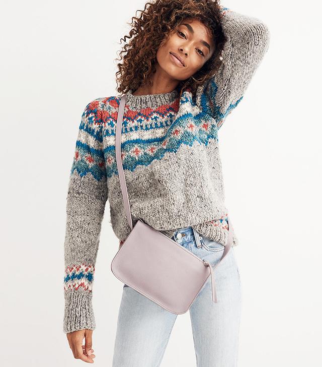 Madewell The Simple Crossbody Bag in Violet Dusk
