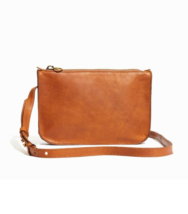 Madewell The Simple Crossbody Bag in English Saddle