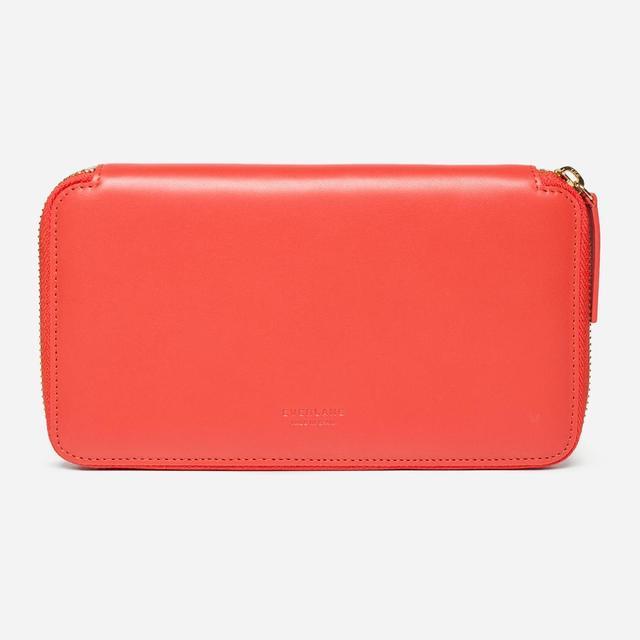 Women's Long Zip Wallet by Everlane in Bright Red