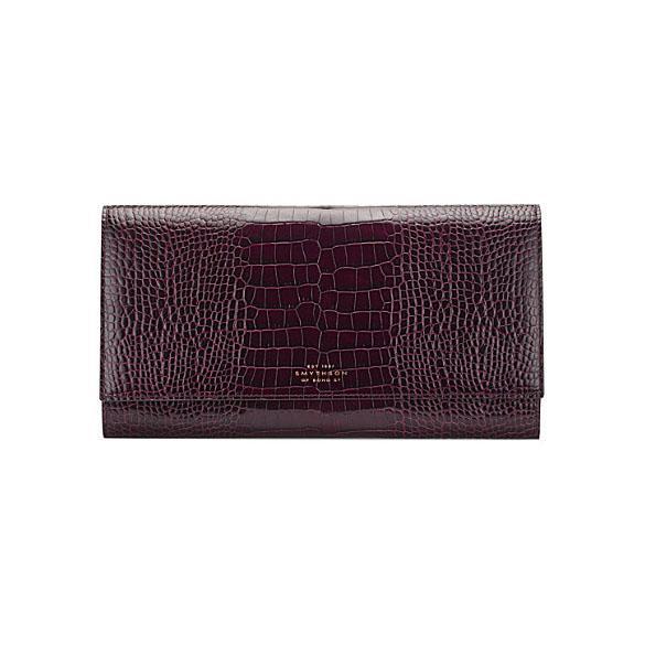 Mara leather travel wallet