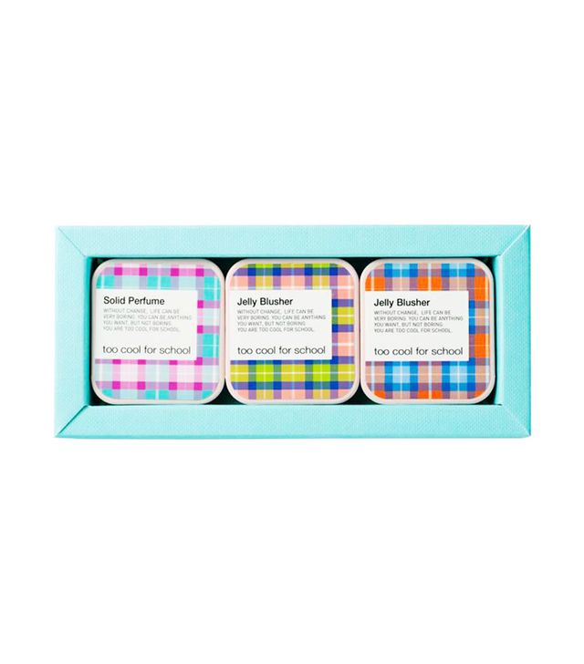 Too Cool For School Jelly Blusher & Solid Perfume Trio -