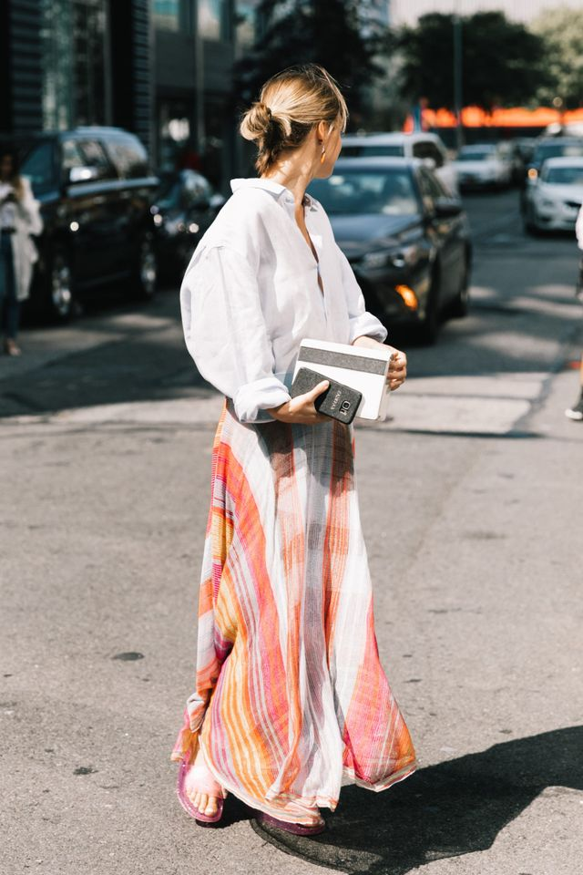 """<p>""""Next year I vow to refine my two wardrobe racks into just one. This means keeping the pieces that I love and work with my style like bold colour, dresses, high-waisted bottoms, statement vintage,..."""