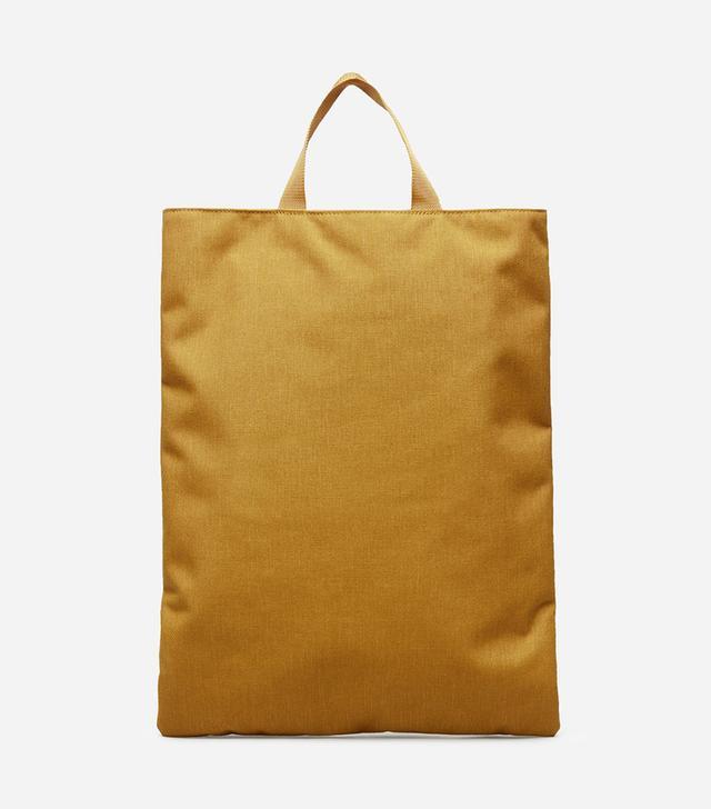 Women's Street Nylon Magazine Tote Bag by Everlane in Mustard