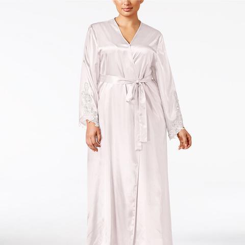 Plus Size Satin Stella Robe