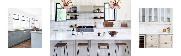 These Are The Best Kitchen Cabinet Paint Colors MyDomaine - Best gray paint color for kitchen cabinets