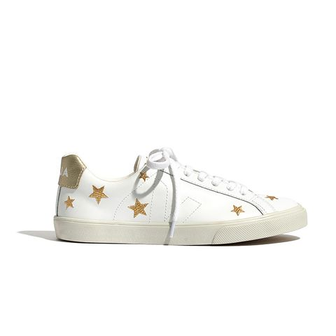 Esplar Low Sneakers in Embroidered Stars
