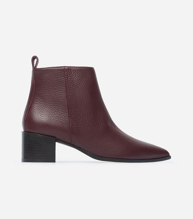 Women's Boss Boot by Everlane in Burgundy, Size 6