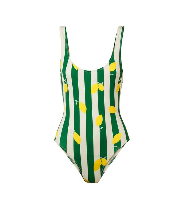 The Anne-marie Printed Swimsuit