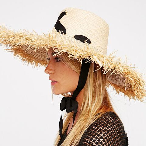 Cross My Heart Straw Hat