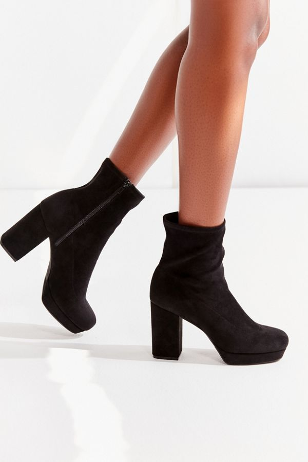 Urban Outfitters UO Michelle Sock Boots