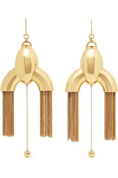 Anthology Gold-plated Earrings