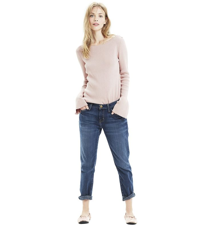 ebf6bc395e233 The 18 Best Maternity Jeans Stylish Mothers-to-Be Swear By | Who ...