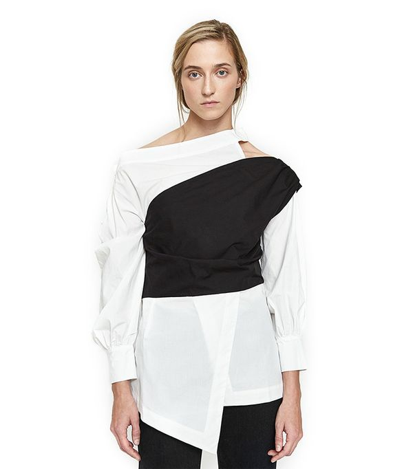 Hanna Blouse in White
