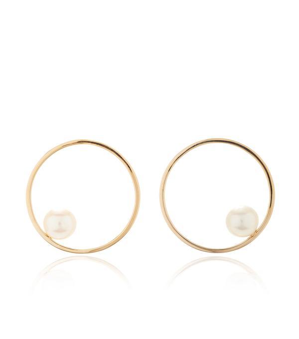 Pearl Circling Earring
