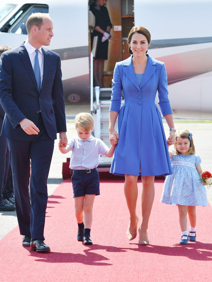 kate middleton and prince williams christmas card who what wear - Royal Family Christmas Card