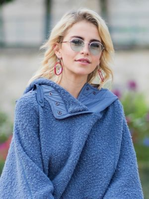 The Perfect Coat This German Fashion Blogger Can't Stop Wearing