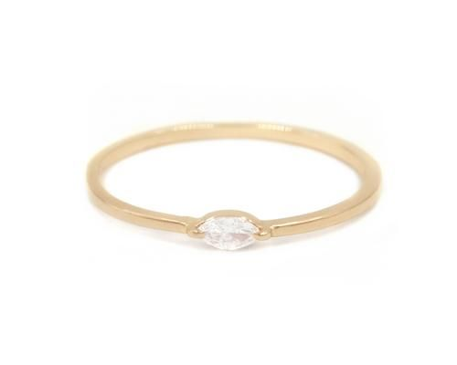 Single Marquise Ring