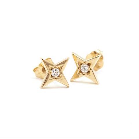 Large Starlight Stud Earrings