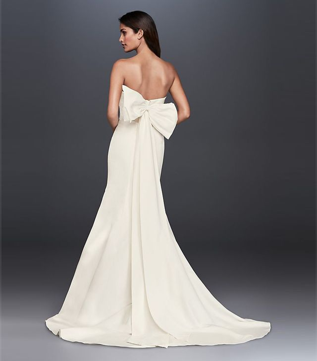 David's Bridal Collection Mermaid Wedding Dress
