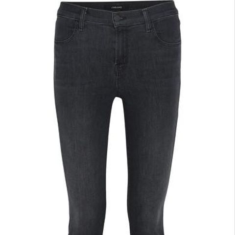 Maria High-Rise Skinny Jeans in Fascination