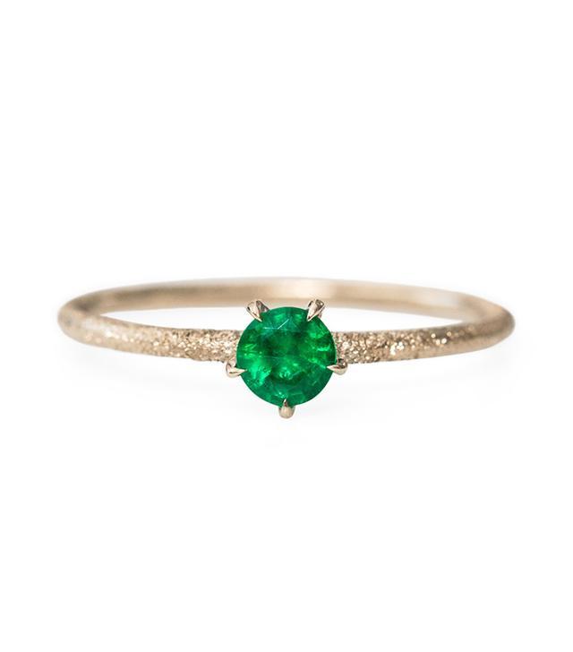 Kataoka Inishmore Emerald Ring