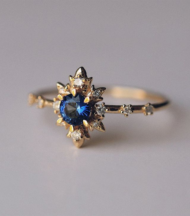Sofia Zakia Sapphire Termina Ring
